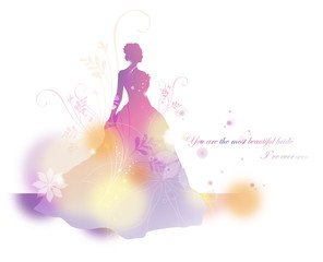 Illustration of wedding