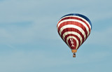 Red White And Blue USA Hot Air Balloon