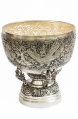 Silver Bowl art in thailand