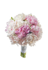 white bridal boquet 2