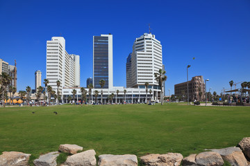 The picturesque Tel Aviv embankment