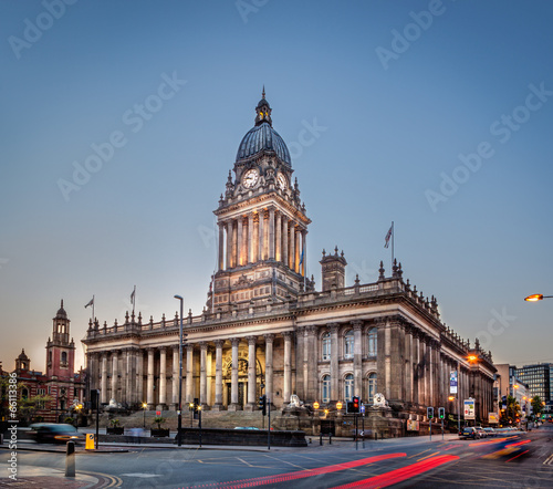 Staande foto Theater Leeds Town Hall