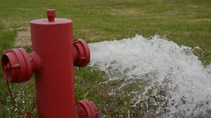 fire hydrant very high pressure