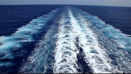 Schiffsschrauben eines Kreuzfahrtschiffes