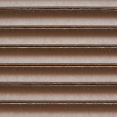 Shopwindow venetian brown plastic blinds