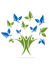 Logo Natural Health Finance tree