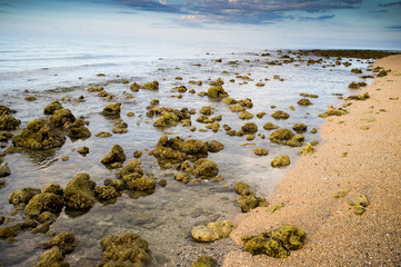 beautiful sea landscape of Sumbawa, Indonesia