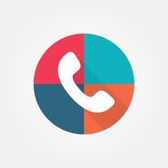 Auricular phone icon