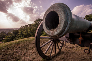Cannon at Vicksburg Battlefield