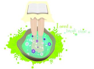 Illustration of healing