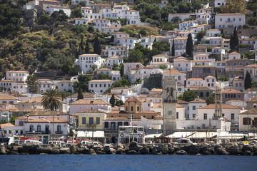 Marina of Hydra Island, Greece