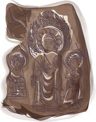 Illustration of national treasure
