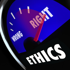 Ethics Gauge Measure Conscious Behavior Good Bad Right Wrong