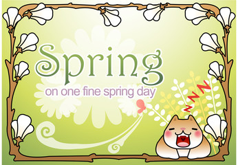 Illustration of spring