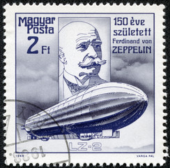 Count Ferdinand von Zeppelin  airship pioneer  and Airship