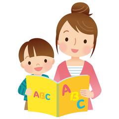 絵本の読み聞かせ 親子 英語