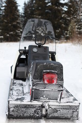 Hatchback snowmobile
