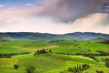 Beautiful rural landscape of Tuscany