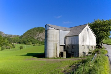 Norwegian Grain Silo 003