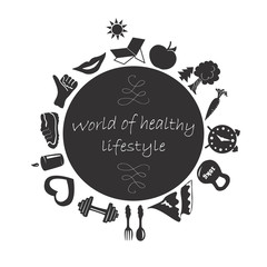 World of healthy lifestyle