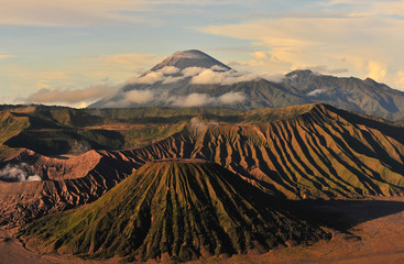 View Point of Mount Bromo Volcano, Indonesia