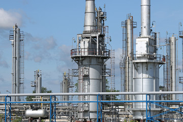 petrochemical plant detail industry zone