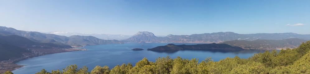 panorama of landscape