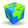 World Cube 3D