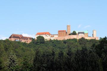 Wartburg  Eisenach - Westseite