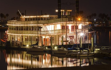 Riverboat in Mission Bay, San Diego
