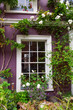 malerisches Fenster an der Portobello Road in London
