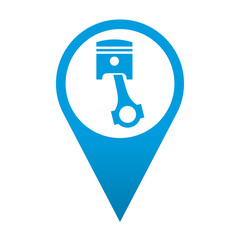 Icono localizacion simbolo motor
