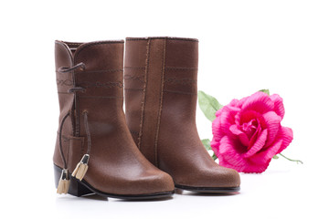 boots and rose
