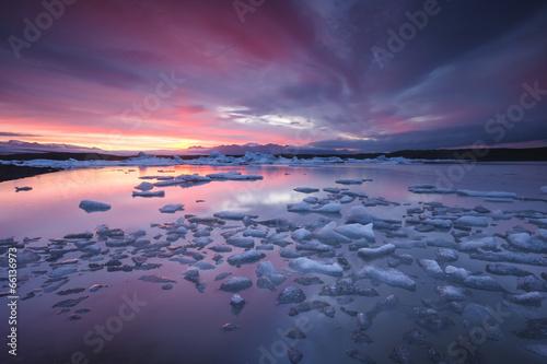 Foto op Aluminium Gletsjers Jokulsarlon