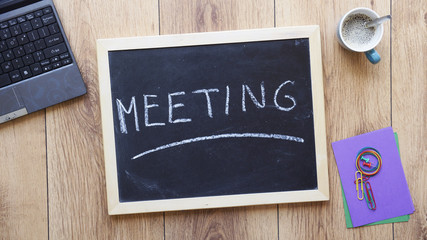 meeting written
