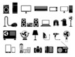 Set of Electronics Icon Vector Illustration