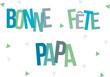 Постер, плакат: fete papa