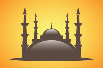 Vektör Din Cami İnanç Kutsal