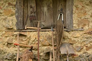 herramientas para el trabajo en el campo