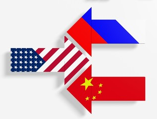 usa against russia and china