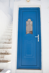 Blue Door, Mykonos, Greece