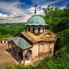 "A view of ""Sokolski Monastery "" near Gabrovo, Bulgaria"