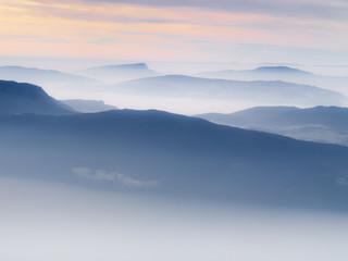 Brume de montagne