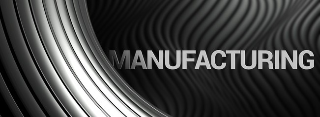 Manufacturing abstract background industry wallpaper