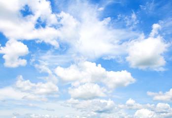 ฺlue sky with clouds