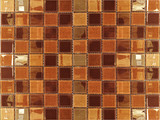 browan shade leather ceramic mosaic tile background