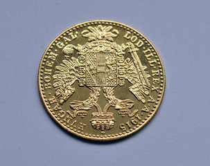 gold ducats of Austria-Hungary