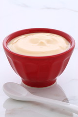 plain french style yogurt