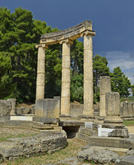 ancient olympia - philippeion