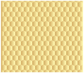 vector golden background cell